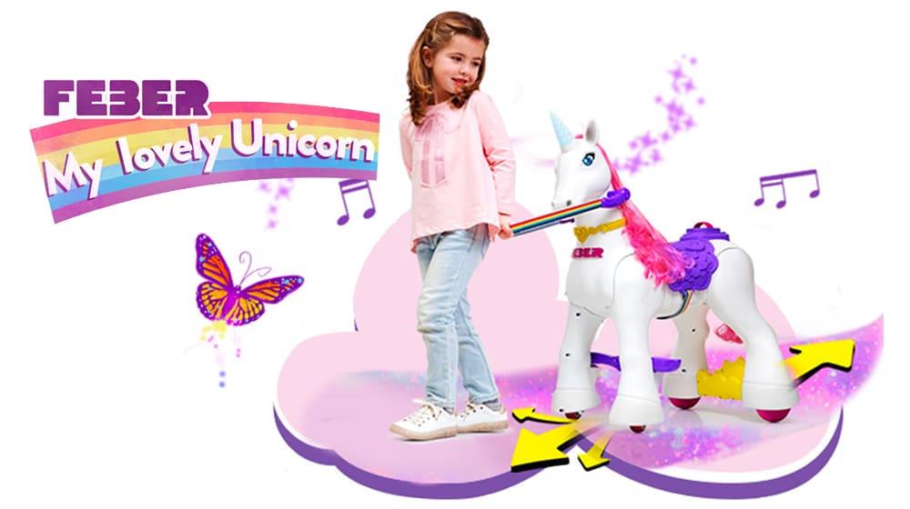 Unicornio Feber My Lovely Unicorn