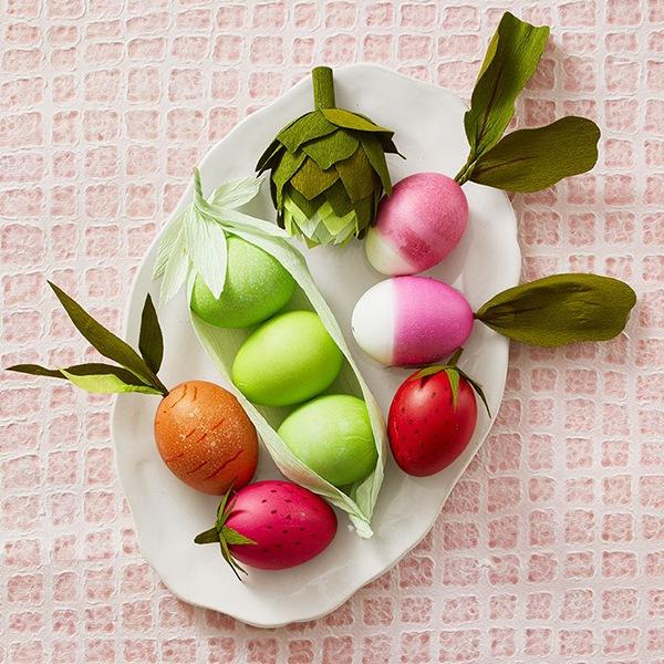 huevos fruta verdura
