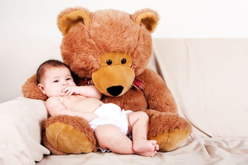 peluches para bebés